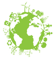 Green Planet Environment vector image vector image