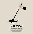 Harpoon vector image