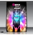 Urban dance party flyer vector image