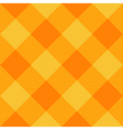 Yellow Orange Diamond Chessboard Background vector image vector image