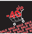 Big sale 40 percentage discount vector image vector image