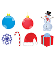 Christmas clip-art vector image vector image