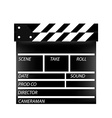 Cinema flap vector image vector image