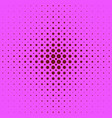 color abstract halftone circle pattern background vector image vector image