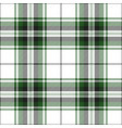 green tartan plaid scottish pattern vector image vector image