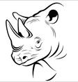 Rhinoceros vector image vector image