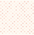 rose polka dot pattern seamless background vector image vector image
