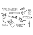 Smoking and tobacco icons