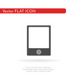 tablet icon flat design style 1 vector image