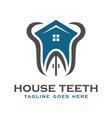 dental health logo vector image