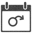 Impotence Calendar Day Grainy Texture Icon vector image vector image