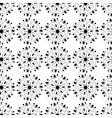 Seamless elegant lace black pattern vector image vector image