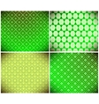 green abstract wallpaper vector image