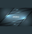abstract black blue frame sport design concept vector image vector image