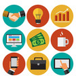 business elements 2 vector image