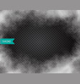 fog or smoke isolated transparent effect vector image vector image