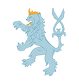 Heraldry Lion vector image