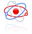 molecule molecular structure icon symbol nucleus vector image