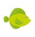 tropical fish sea life vector image vector image