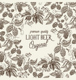 abstract natural vintage light background vector image vector image