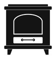 ancient oven icon simple style vector image vector image