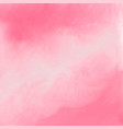 elegant pink watercolor texture background vector image vector image