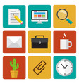 office elements vector image