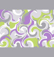 abstract background of curls vector image vector image