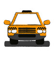 cab draw vector image vector image
