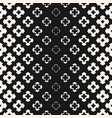 halftone geometric seamless texture with flower vector image vector image