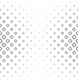 monochrome square pattern background - black and vector image vector image