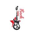 rock logo design emblem for band or festival