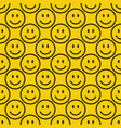 seamless emoji pattern vector image vector image