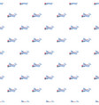 small plane pattern vector image vector image