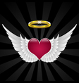 Wings of love vector | Price: 1 Credit (USD $1)