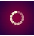 circular loading icon vector image vector image
