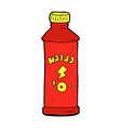 comic cartoon cleaning product vector image vector image