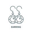 earring line icon linear concept outline vector image