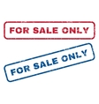For Sale Only Rubber Stamps vector image vector image
