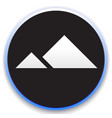 mountain peek icon vector image