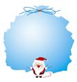 Santa claus design for christmas vector image