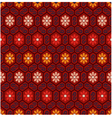 seamless floral chinese pattern vector image vector image