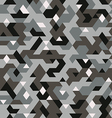 seamless pattern in camouflage style pixel vector image vector image
