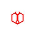 service logo vector image