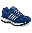 sport shoes design isolated vector image vector image