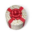 Surprise box with gifts and presents vector image vector image