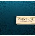 Vintage retro background vector image