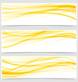 Abstract energy power futuristic bright header set vector image vector image