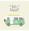 caravan trailer Trailer home vector image