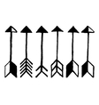 cute arrows vector image vector image